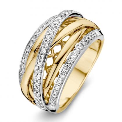 Gouden Damesring RG416343